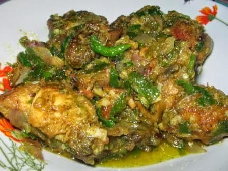 Resep Cara Membuat Ayam Cabe Hijau