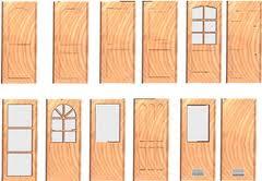 Todo de madera puertas for Ver modelos de puertas de madera