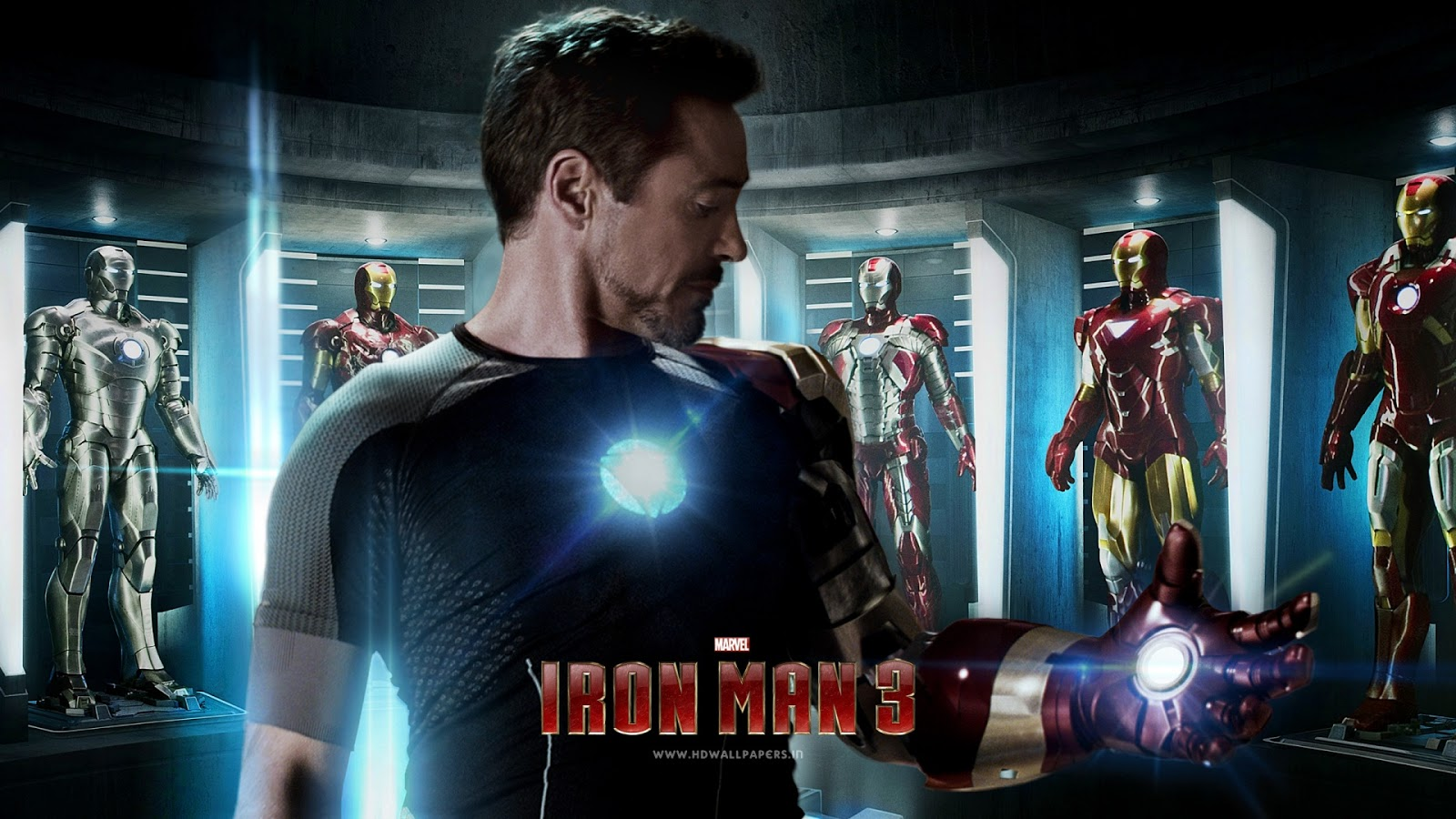 Tony Stark Wallpaper in Iron Man Movie HD