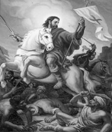 Apostol Sntiago contra los infieles