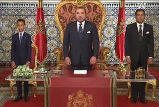 الملك محمد السادس في خطاب العرش الموجه للأمة