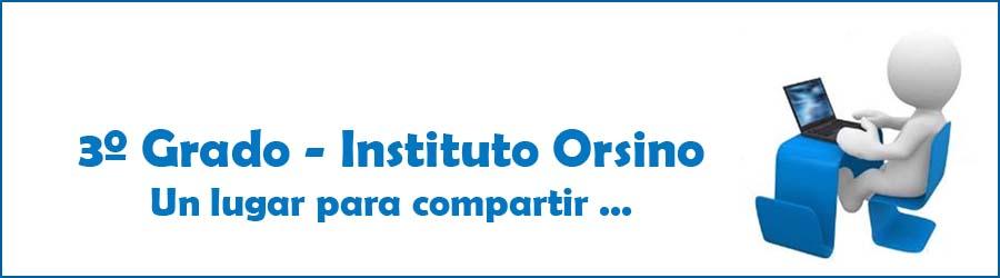 Instituto Orsino - 3º Grado