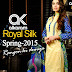 Royal Silk Collection 2015 | Alkaram Spring Summer Collection 2015
