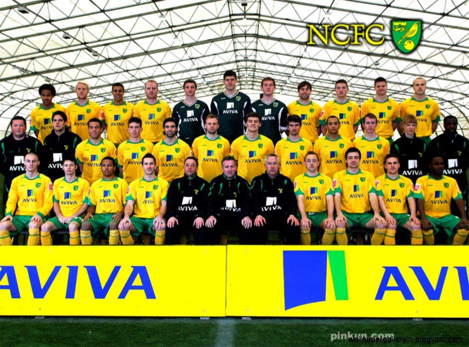Football Wallpaper Norwich City Team Squad
