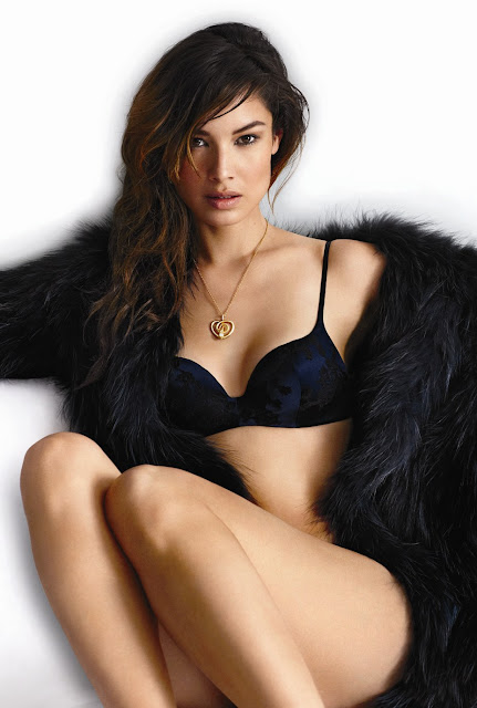 Berenice Marlohe Sexy in Lingerie