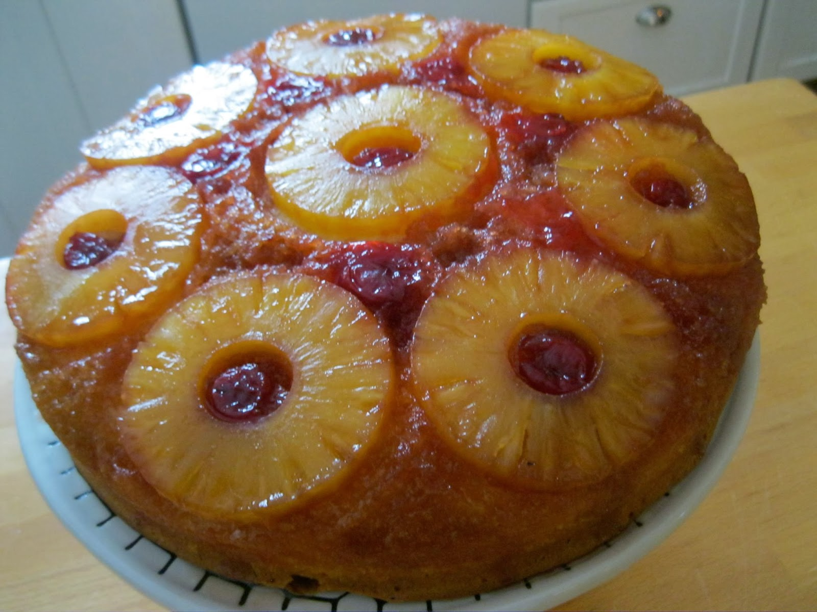 Adirondack Baker: EASY Pineapple Upside Down Cake!