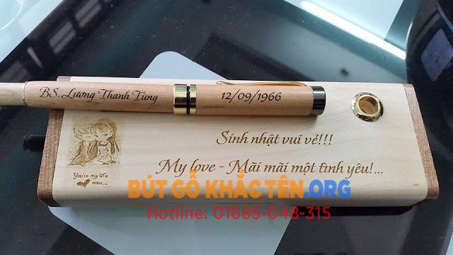 Mua bút gỗ khắc tên đẹp, ý nghĩa tại Hà Nội