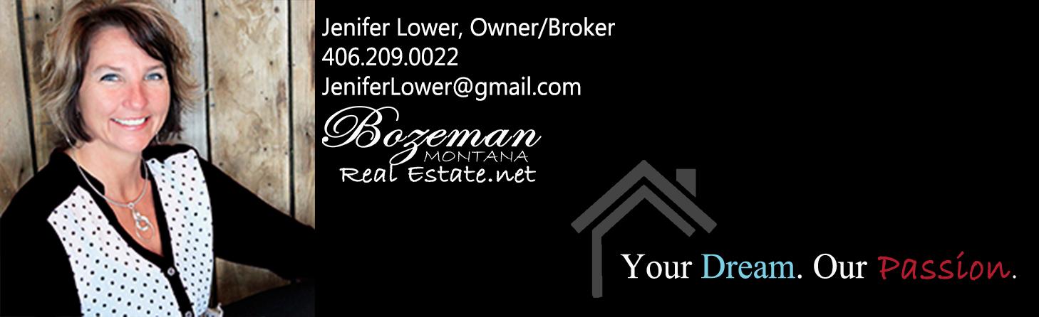 Jenifer Lower, Bozeman Mt Real Estate