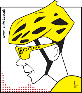 Chris Froome Tour de France caricature