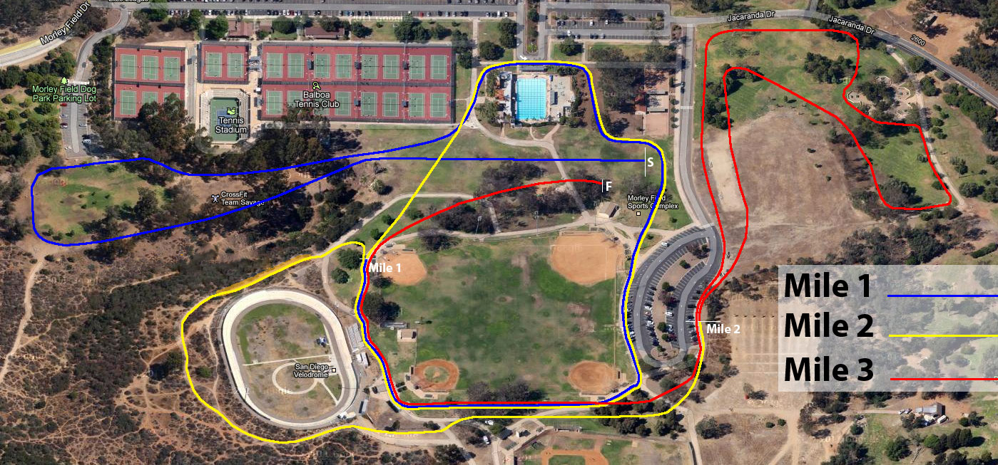 Islander Track and Cross Country Map of the new league Cross