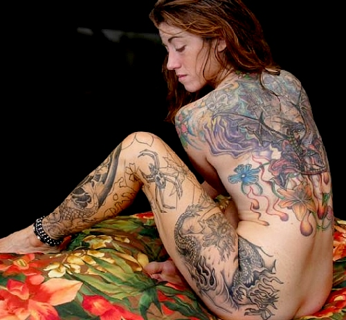 tattoos pictures. large tattoo