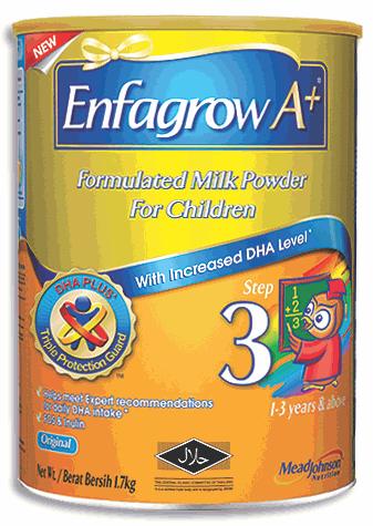 Enfagrow milk