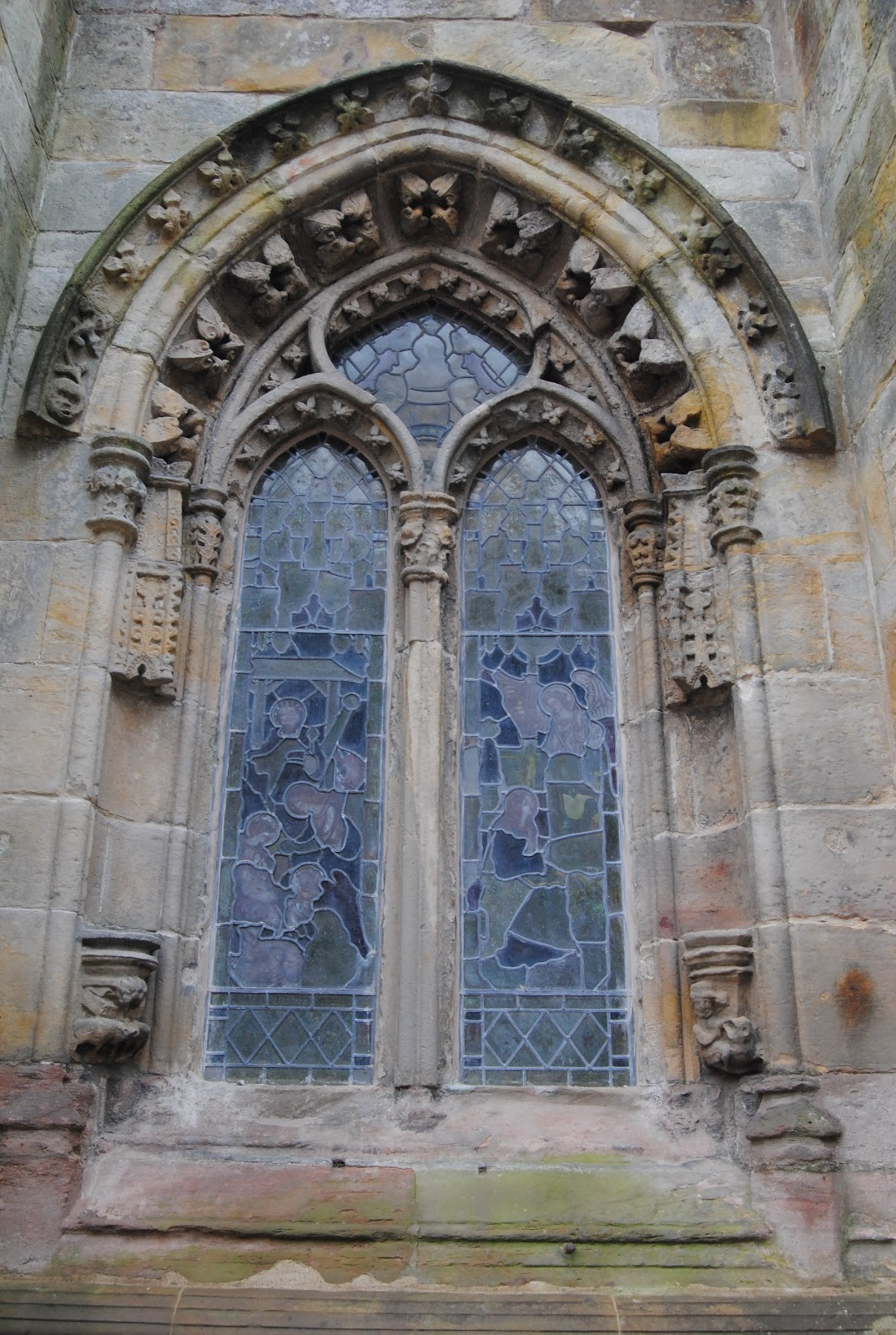 how to get to rosslyn chapel from edinburgh
