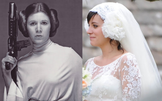 Lily Allen Princess Leia