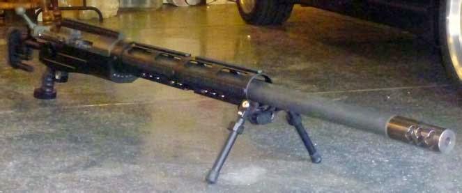 #Оружие - Винтовка для войны с тиранозаврами 14,9 mm SOP (США)