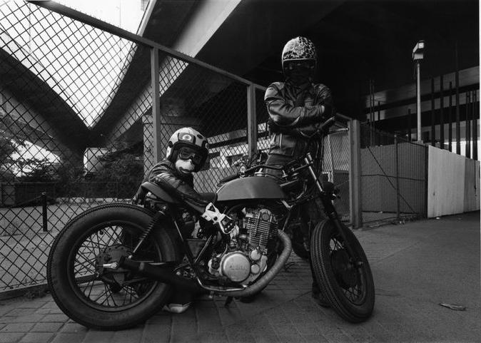 Tribute blitz motorcycles