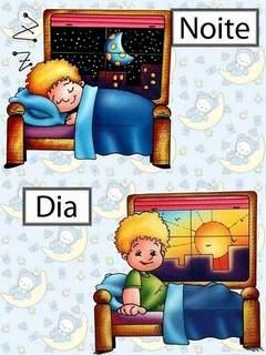 Opostos: Noite / Dia