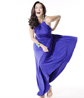 Marian Rivera Purple Gown