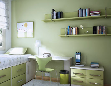 home color show of 2012 study room colors