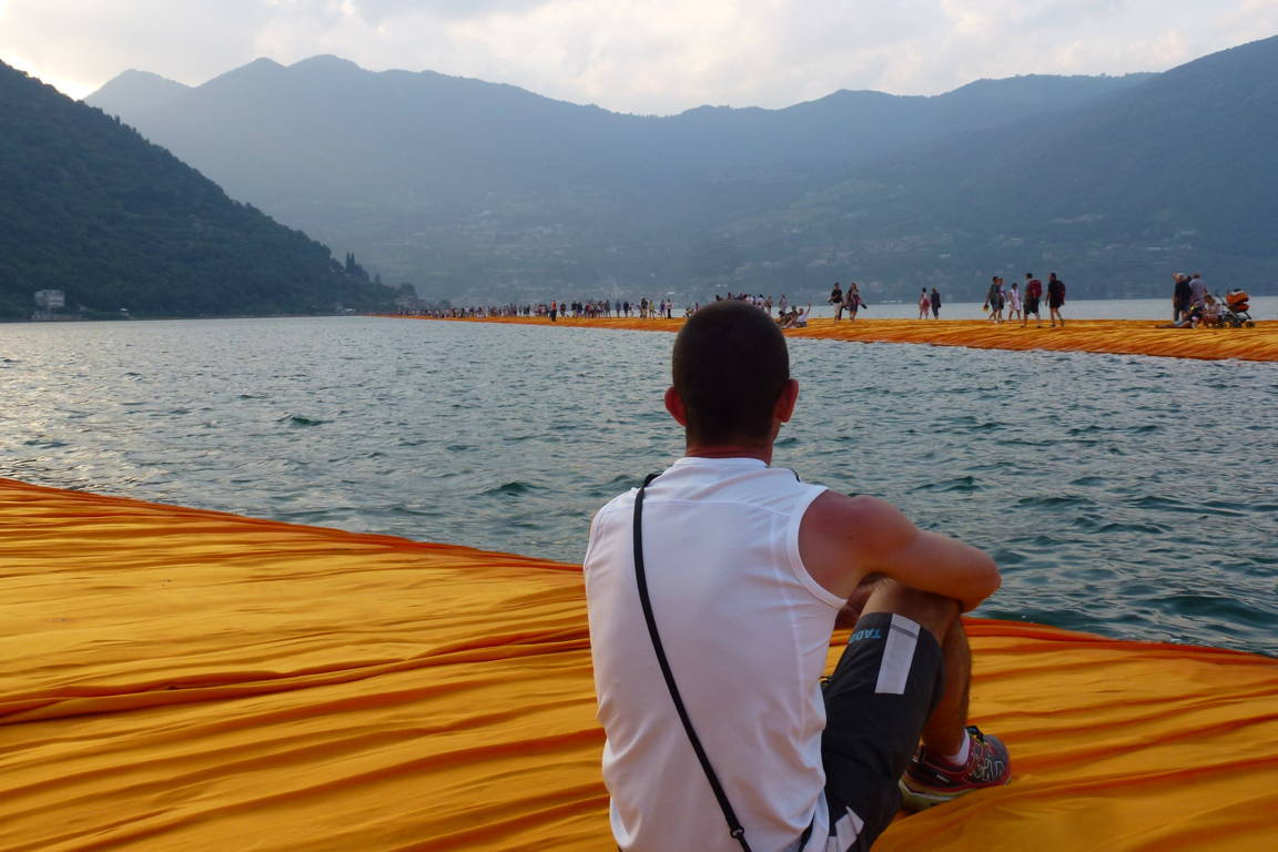 The Floating Piers (Sulzano) 25 giugno 2016