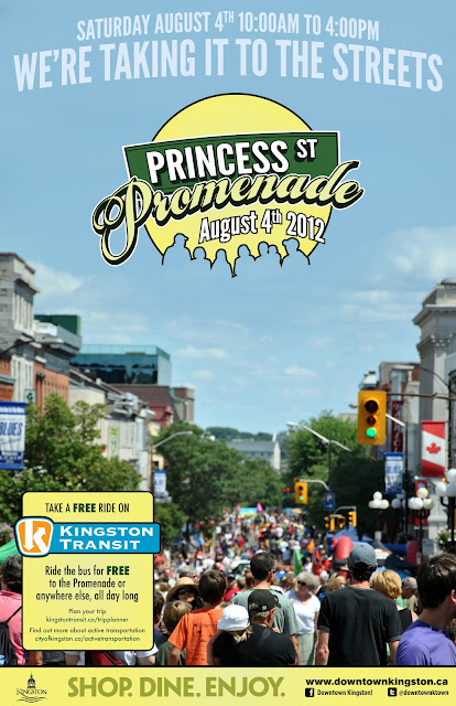 kingston, ontario, events, downtown, waterfront, shopping, dining