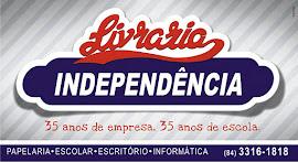 LIVRARIA INDEPENDENCIA 35 ANOS