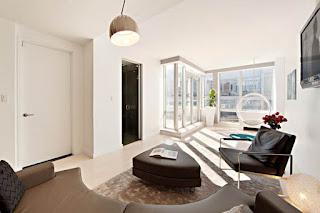 Sliding Down A New York Penthouse Double Level Floor Plan