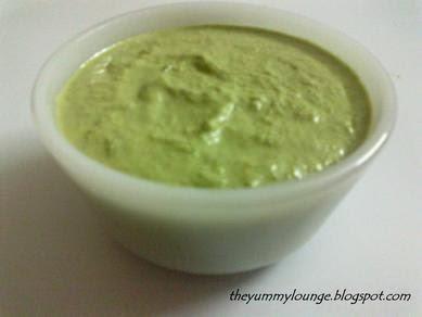 Coriander Peanut Green Chutney