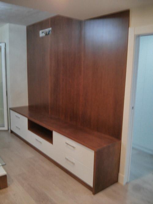 Panelados en pared carpintero en almer a profesionales muebles a medida - Panelado de paredes ...