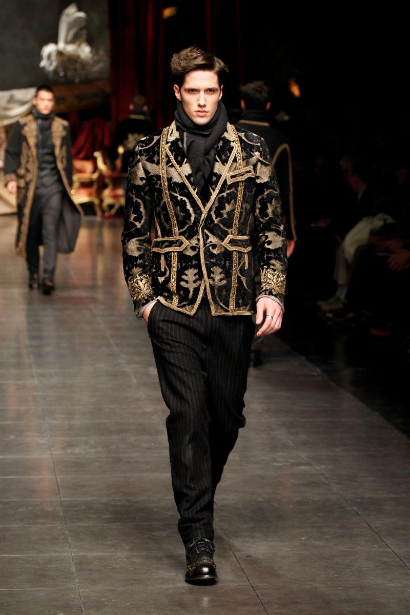 baroque inspired fashion men - photo #27