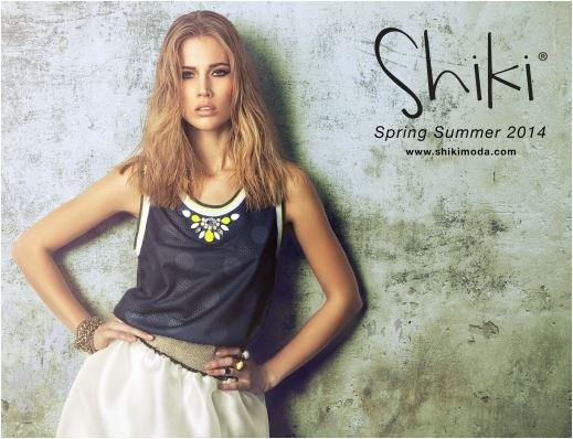 shiki total look donna uomo e teenagers collezione primavera estate 2014