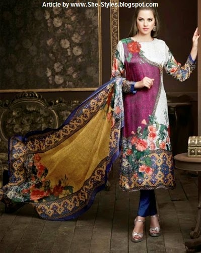 Chanderi Silk Salwar Suits Designs 2015-16 | Indian Silk Salwar ...