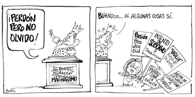 Caricatura periodística de BONIL: febrero 2012
