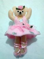 boneka flanel beruang