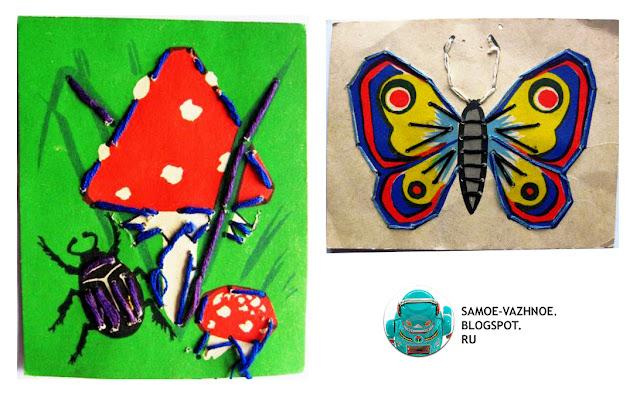 Вышивание для детей 7 лет СССР советская игра книга схема старая из детства