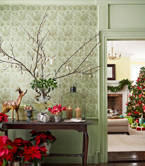 Christmas Decorations With Tree Branches: Color Outside The Lines: LOVE ... Christmas Branches