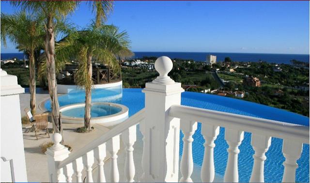 Vistas Villa de Lujo Estepona Marbella
