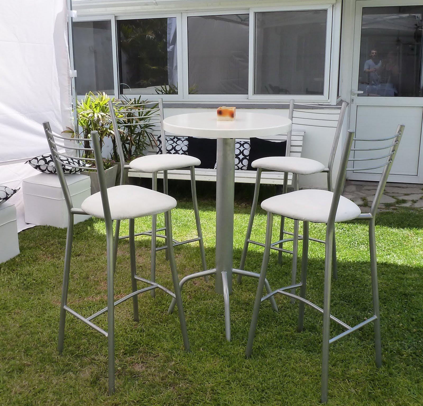 Tene tu living alquiler sillas y mesas altas para eventos - Alquiler sillas y mesas para eventos ...