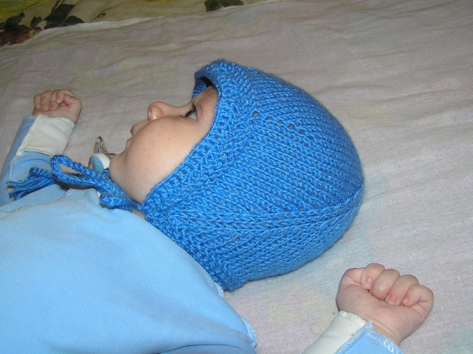 Вязания для детей до года спицами чепчиков