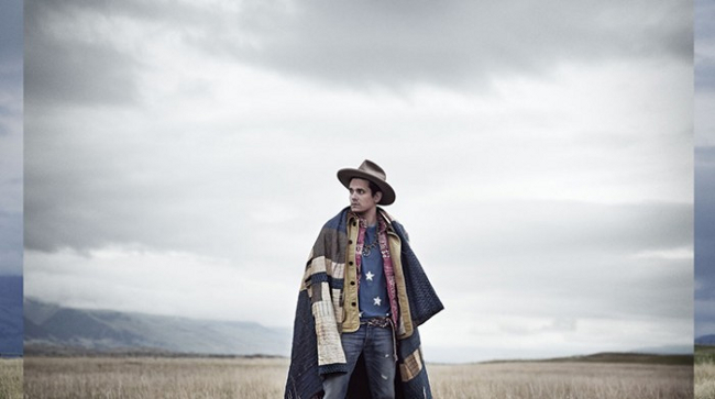 Portada del sexto álbum de John Mayer