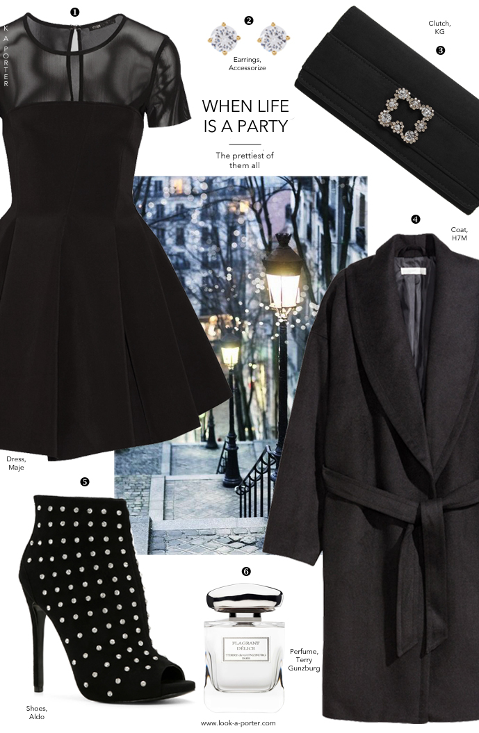 A party going out outfit inspiration & ideas / dress for less / via www.look-a-porter.com