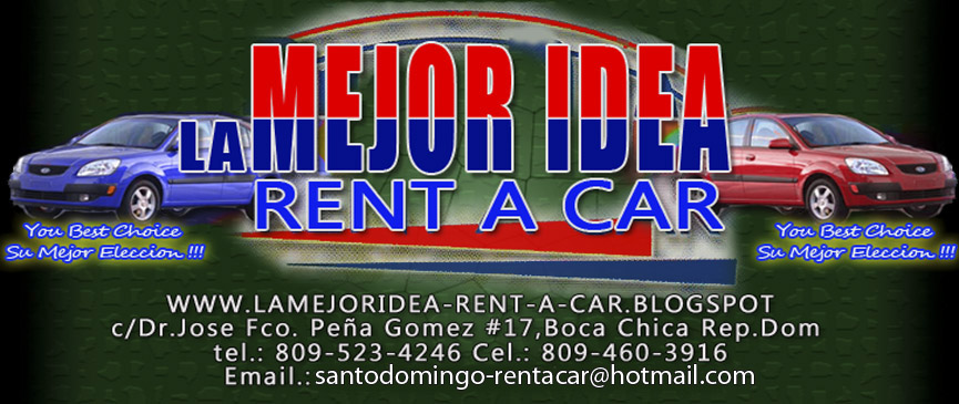 LA MEJOR IDEA-RENT-A-CAR.