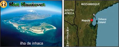 Mapa de Inhaca