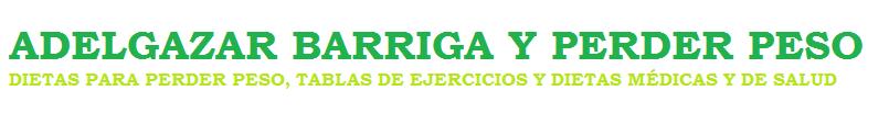 ADELGAZAR BARRIGA Y PERDER PESO