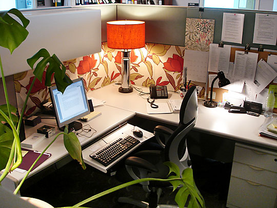 Simple Career Life: Love Your Creative Space: 8 Uplifting Cubicle