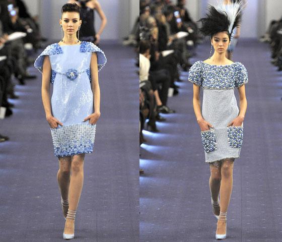 Chanel alta costura primavera verano 2012