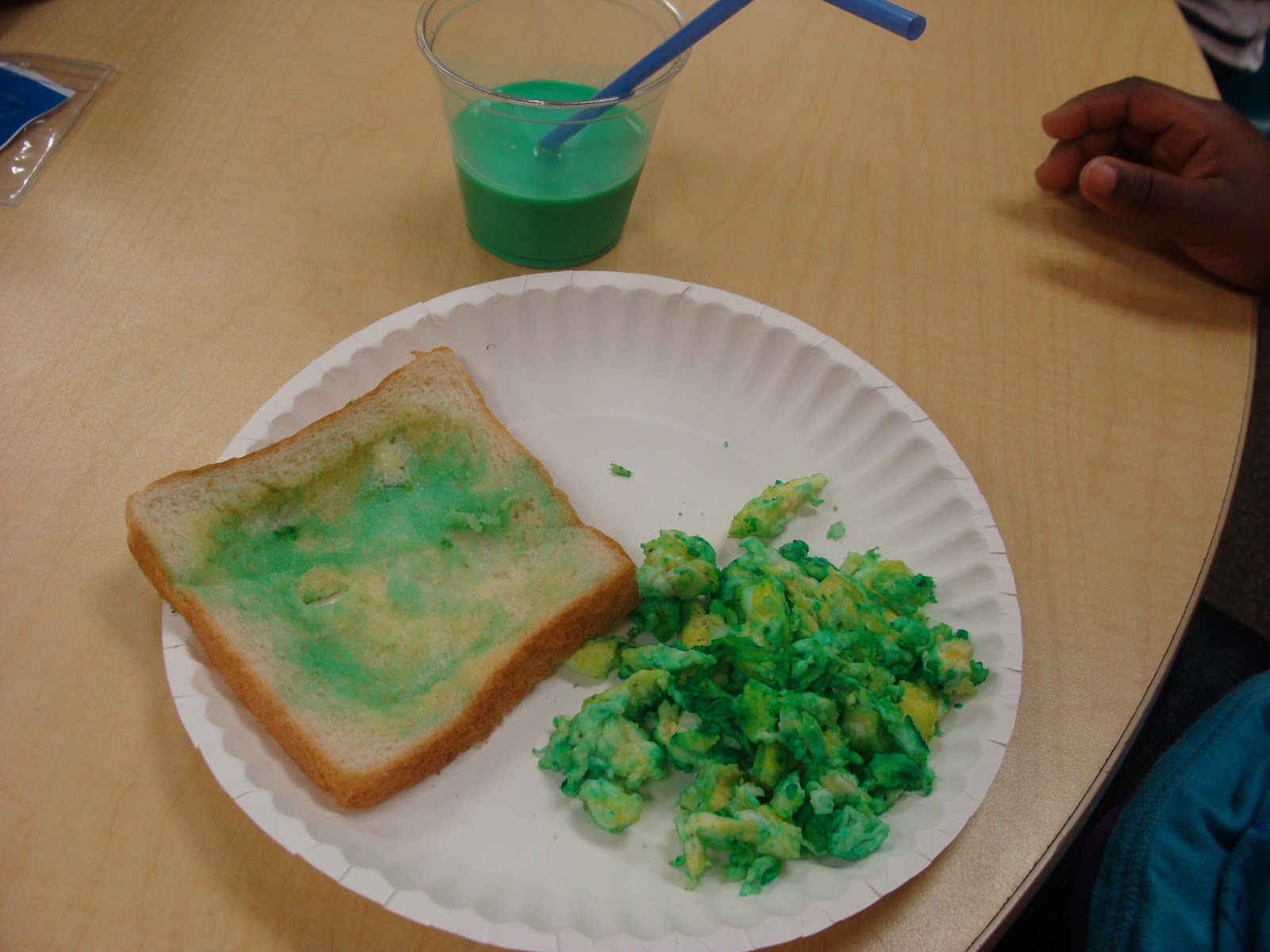 We Started The Morning By Doing A Shared Reading Of Green Eggs And Ham After Book Made Toast Milk Here Are