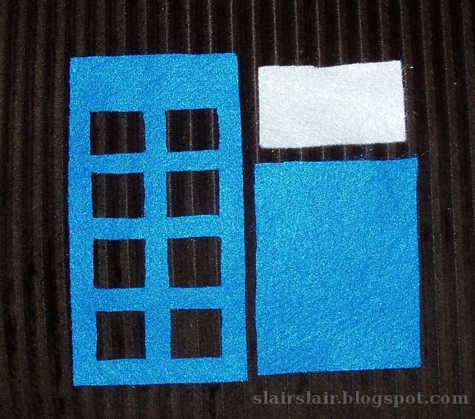 Slair\'s Lair: Hand Stitched Felt TARDIS