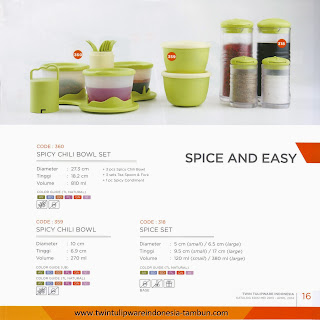 SPICE AND EASY - KATALOG TULIPWARE 2013-2014