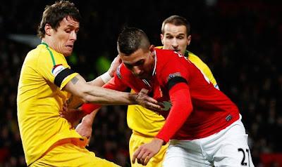 Manchester Utd Crystal Palace 1-2 video